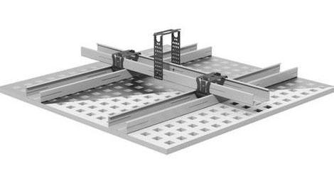 Калкулатор за D 112 GKB - Окачен таван на метална носеща конструкция на две нива с директни окачвачи