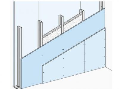 Калкулатор за W 112 2GKB - Лека преградна стена Единична щендерна конструкция с двуслойна обшивка