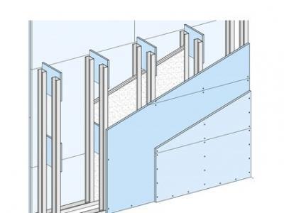Калкулатор за W 116 2GKB - Инсталационна стена >22 см. Двойна щендерна конструкция с двуслойна обшивка