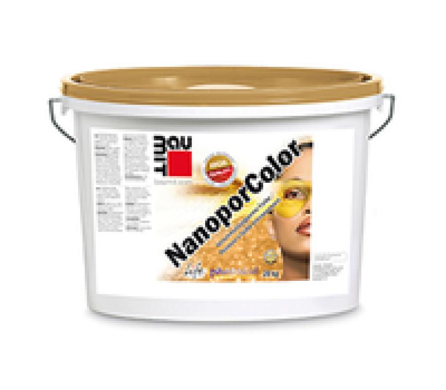 Фасадна боя Baumit NanoporColor 15 л.