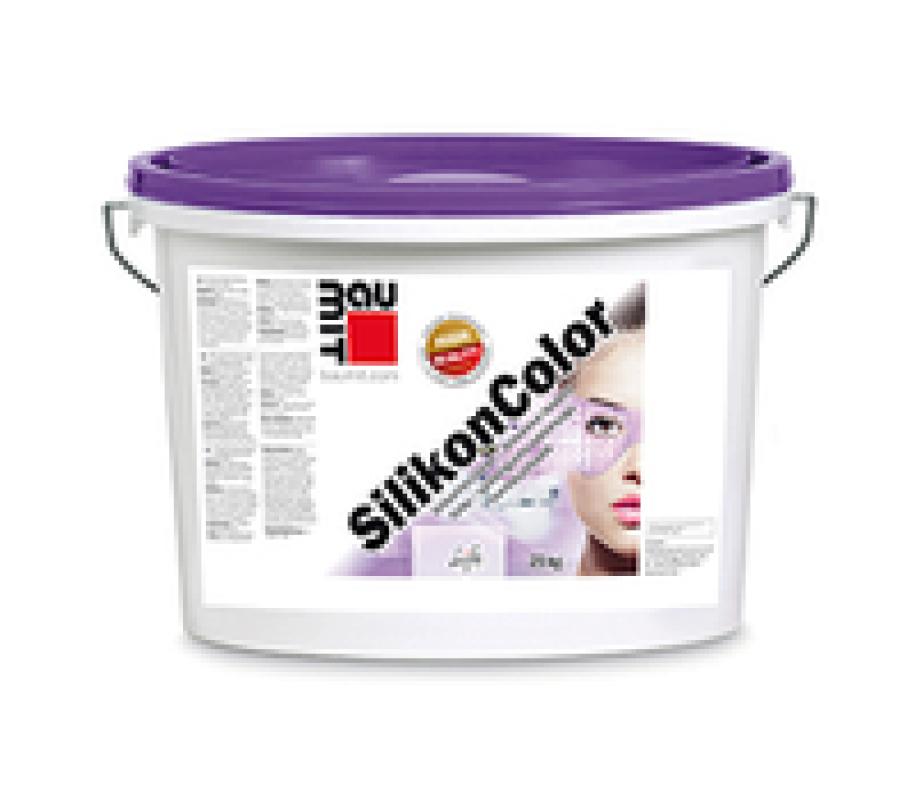 Фасадна силиконова боя Baumit SilikonColor 5 л.