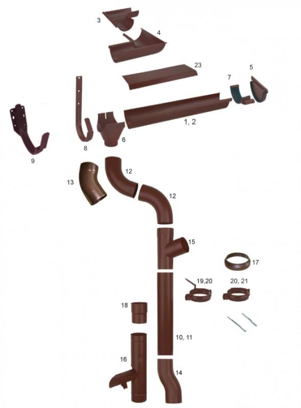 Отводнителна система Stabicor M