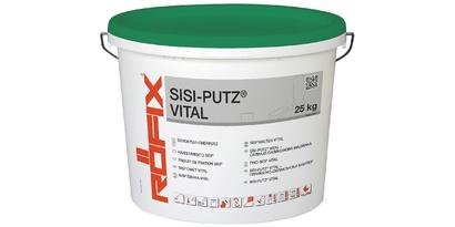 Силикат-силиконова завършваща мазилка RÖFIX SiSi-Putz® VITAL