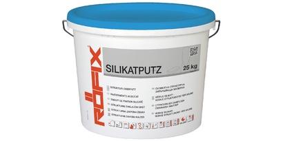 Структурна завършваща мазилка RÖFIX Silikatputz