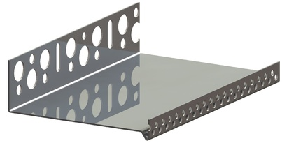 Алуминиев цокълен U-профил RÖFIX Sockelprofil