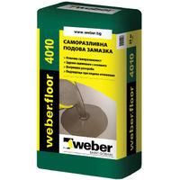 Саморазливна смес за вътрешни помещения weber.floor 4010