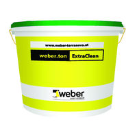 Фасадна боя weber.ton ExtraClean , 25 кг.