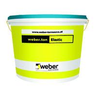 Еластична фасадна боя weber.ton Elastic , 7 кг.