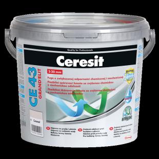 Високоустойчива аквастатична фугираща смес Ceresit CE 43 Grand'Elit