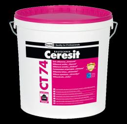 Силиконова мазилка Ceresit CT 74 1.5 мм , цветова група A