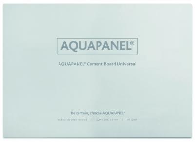Циментова плоскост за вътрешно и външно приложение AQUAPANEL UNIVERSAL