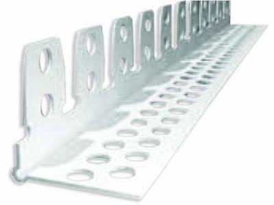 PVC гъвкав ъглозащитен профил, бял