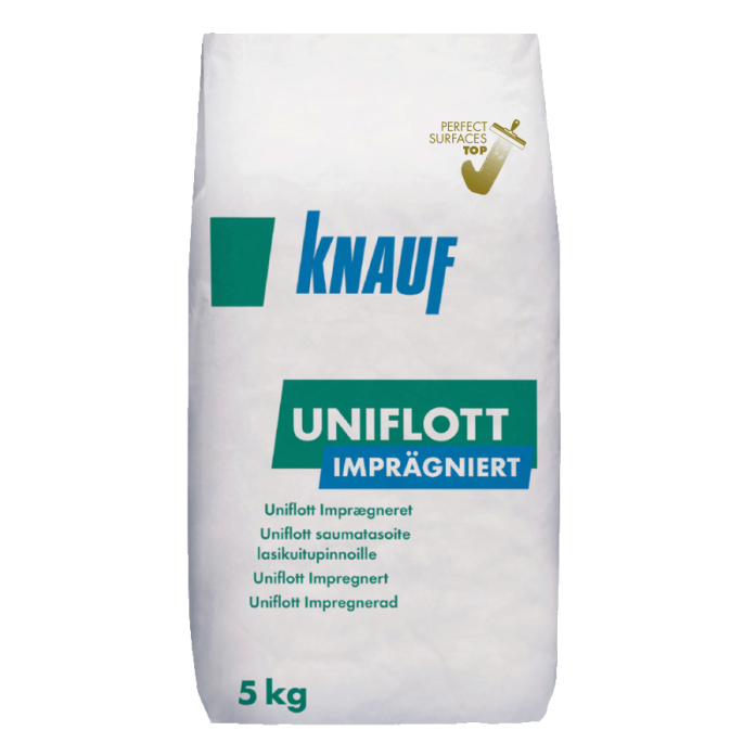 Шпакловъчна импрегнирана маса Knauf Uniflott Impragniert