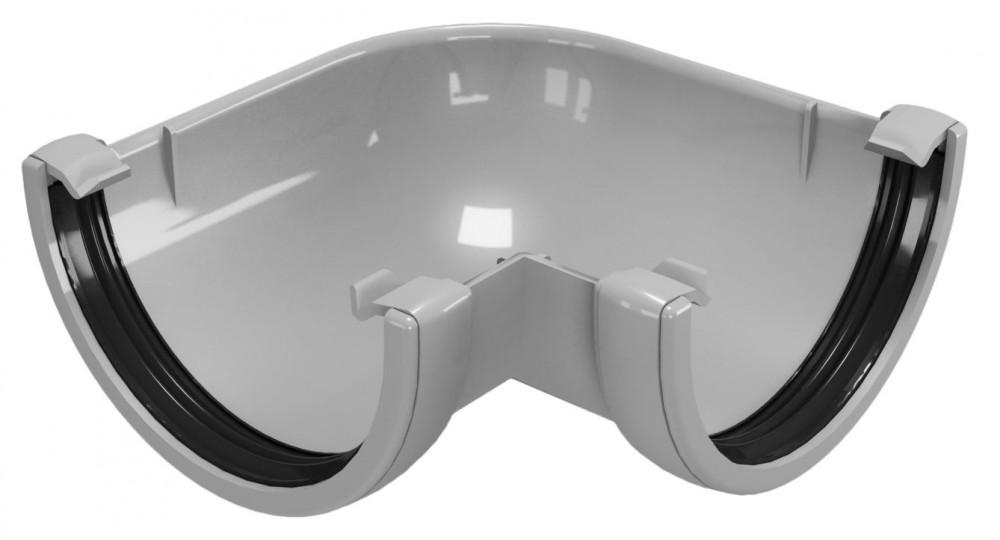 CLASSIC 120 PVC - Бежов , Бял , Керемиден , Бордо , Кафяв , Сив , Черен Ъгъл за улук 90°