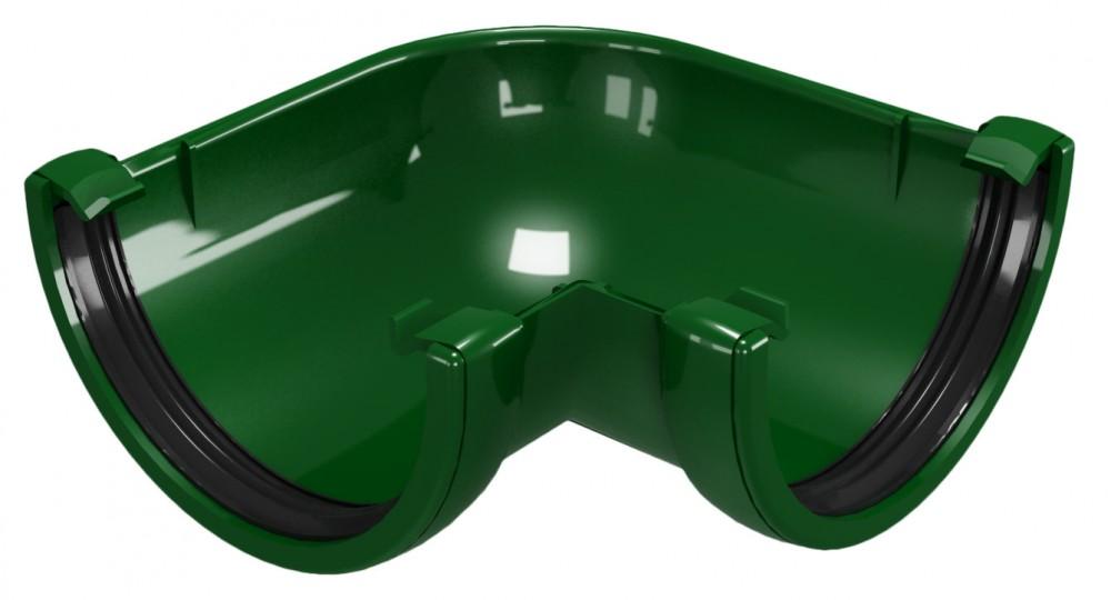 CLASSIC 120 PVC - Зелен Ъгъл за улук 90°