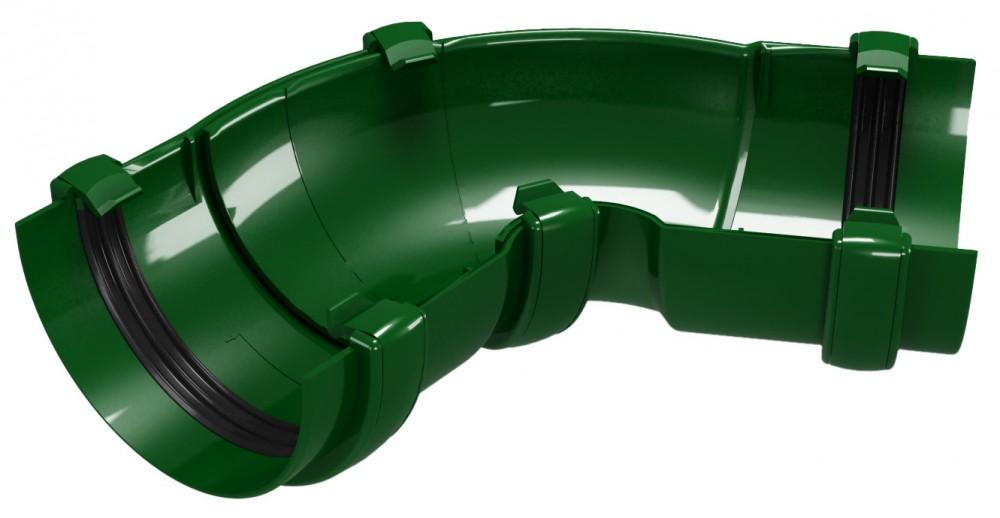CLASSIC 120 PVC - Зелен Универсален ъгъл за улук 60°-160°