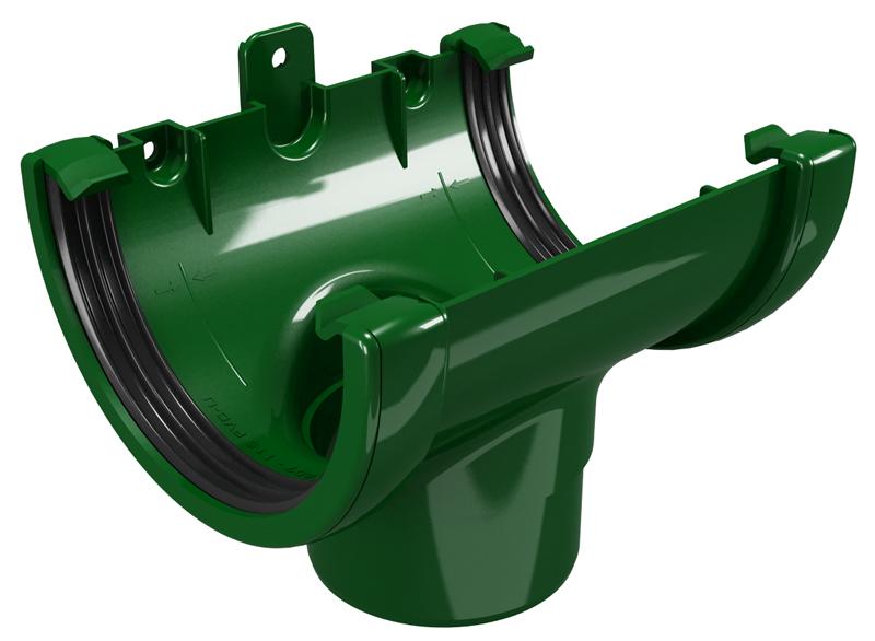 CLASSIC 120 PVC - Зелен Снадка с дренаж Ø80