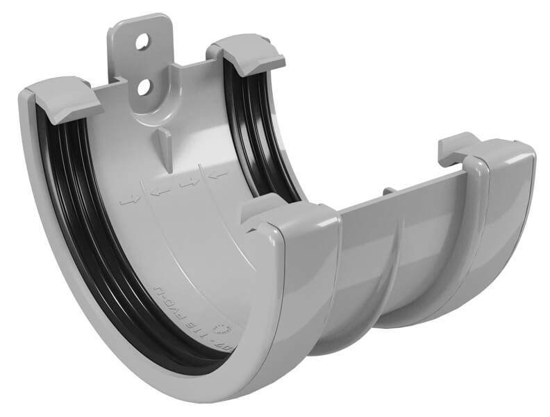CLASSIC 120 PVC - Бежов , Бял , Керемиден , Бордо , Кафяв , Сив , Черен Снадка за улук