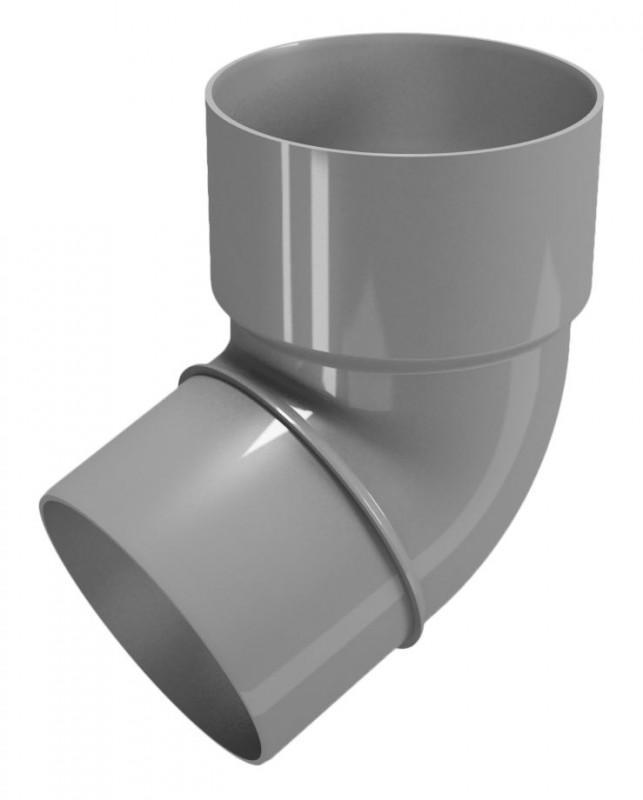 CLASSIC 120 PVC - Бежов , Бял , Керемиден , Бордо , Кафяв , Сив , Черен Дъга 67.5° Ø80