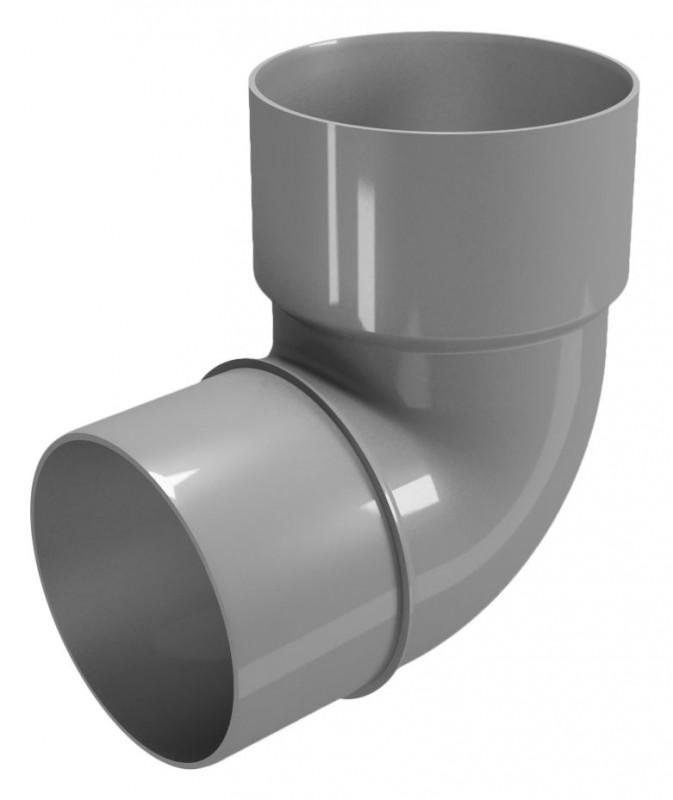 CLASSIC 120 PVC - Бежов , Бял , Керемиден , Бордо , Кафяв , Сив , Черен Дъга 87.5° Ø80
