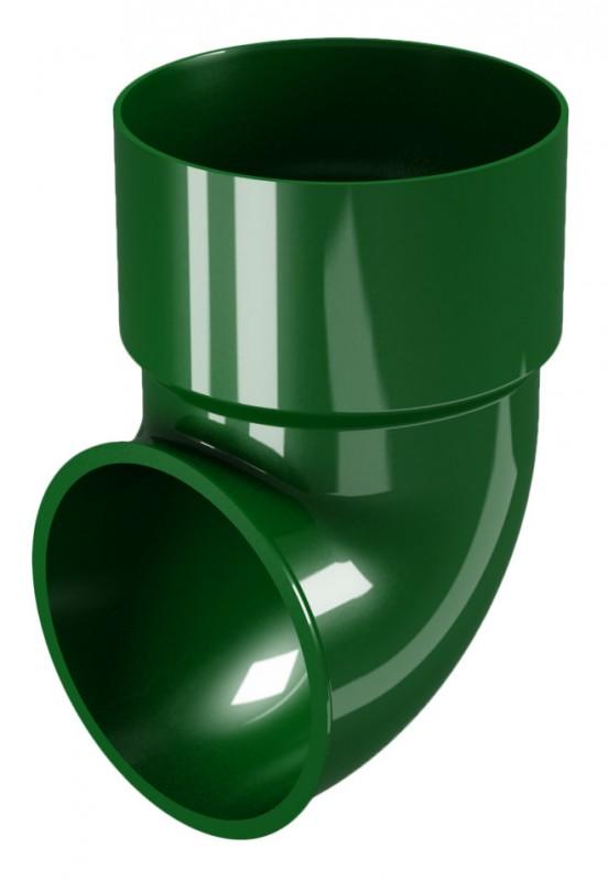 CLASSIC 120 PVC - Зелен Завършващо коляно Ø80