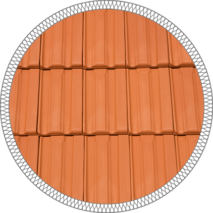 Керемида керамична Традиционал Лукс - Младост