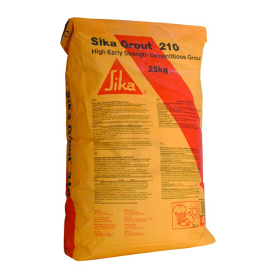 Grout for anchoring and structural grouting SikaGrout®-210