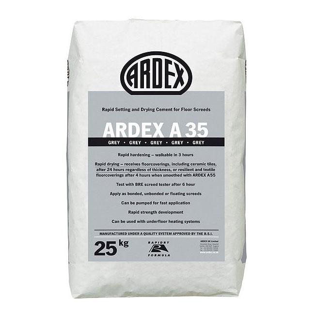 Бързодействащ цимент ARDEX A 35