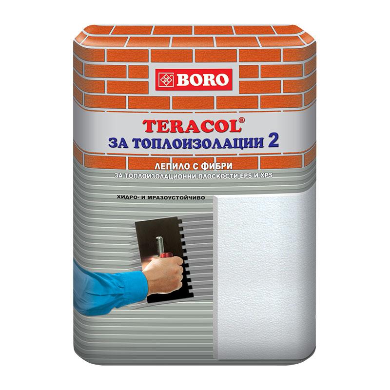 Лепило за топлоизолационни плоскости Теракол за топлоизолации 2