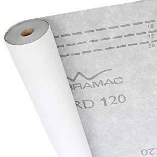 Подпокривно фолио Bramac Standart 120 сив/бял 39080