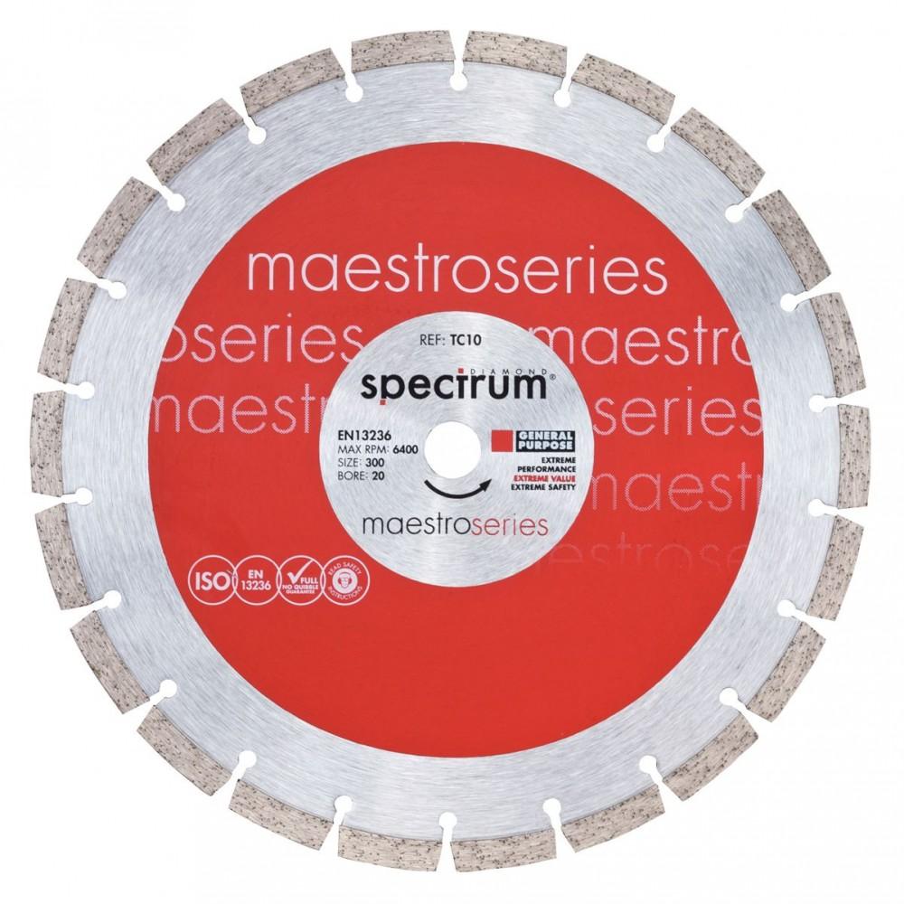 Диамантен диск Maestro универсален Ф 350/25.4
