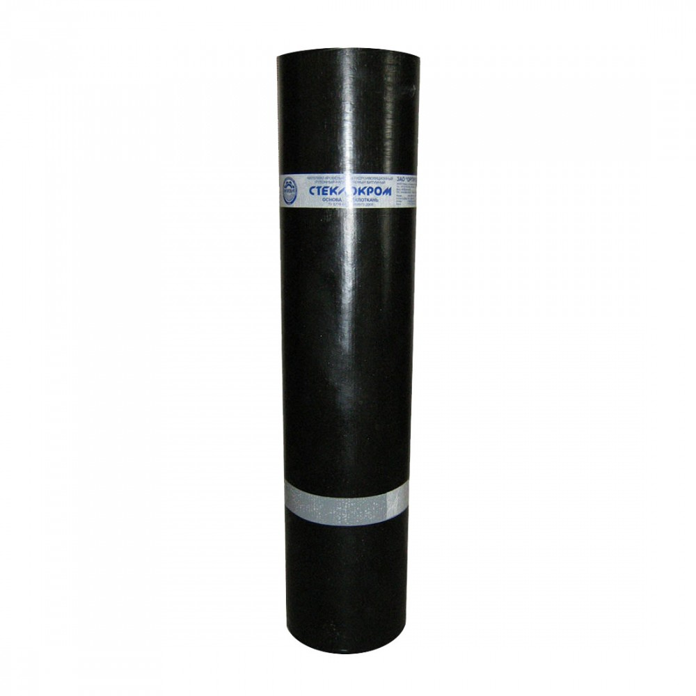 Битумна хидроизолация SBS Стеклокром усилена армировка -5С , 5.2 кг. без посипка