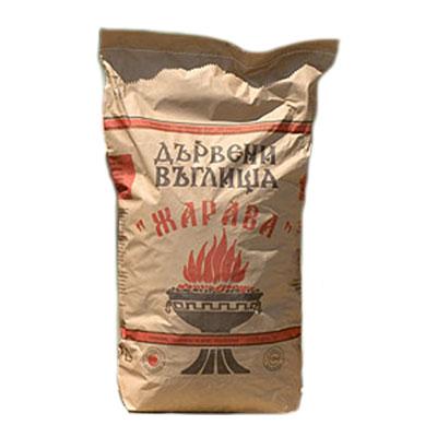 Дървени въглища ЖАРАВА , 10 кг.