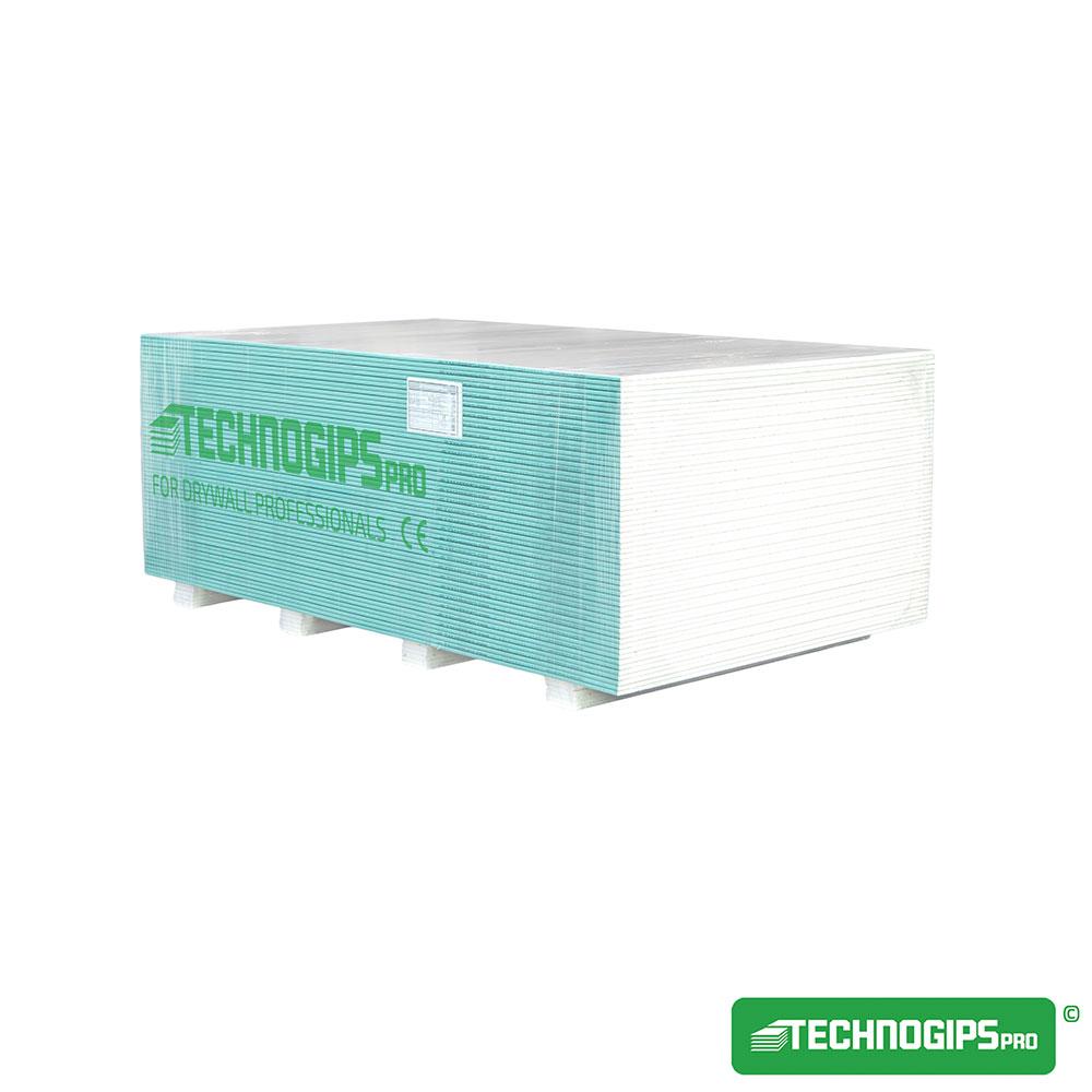 Technogips Pro Влагоустойчива плоскост Тип H2 12.5
