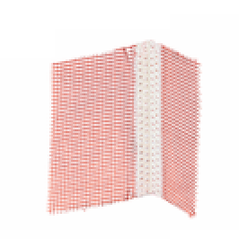 Профил за ъгли с мрежа пластмасов 12.5x12.5 Baumit