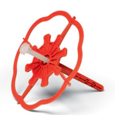 Дюбел за топлоизолация Baumit StarTrack red