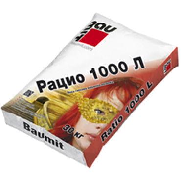 Гипсова лека машинна мазилка Baumit Ratio 1000 L