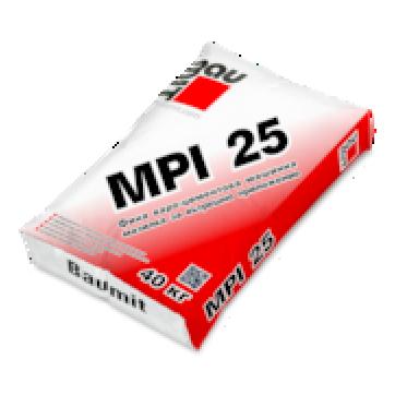 Варо-циментова фина машинна мазилка Baumit MPI 25