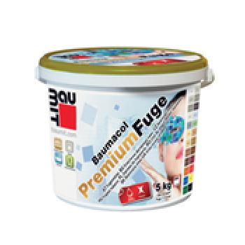 Фугираща смес Baumacol PremiumFuge , 5 кг. , бяла, циментовосива