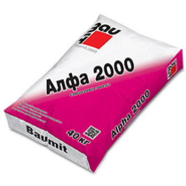 Саморазливна замазка Baumit Alpha 2000