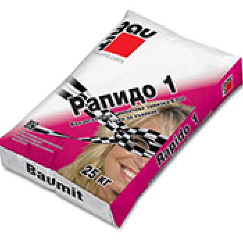 Бързосъхнеща циментова замазка Baumit Rapido 1