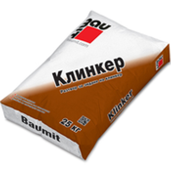 Сух разтвор за зидане Baumit Klinker