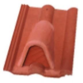 Вентилираща керемида , червена