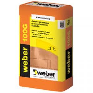 Лепило за газобетон Weber 100G