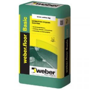 Циментова замазка Weber.floor Basic