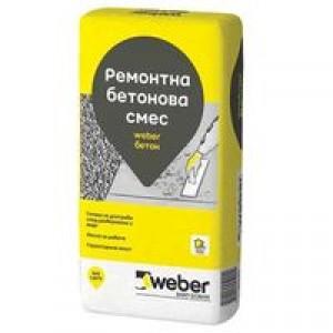 Суха смес за приготвяне на бетонов разтвор weber Бетон