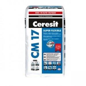 Супер гъвкаво лепило за критични основи Ceresit CM 17 SUPER FLEXIBLE , 25 кг.