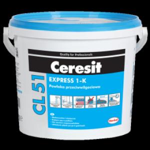 Еднокомпонентна алтернативна хидроизолация под плочки Ceresit CL 51 Express , 15 кг.