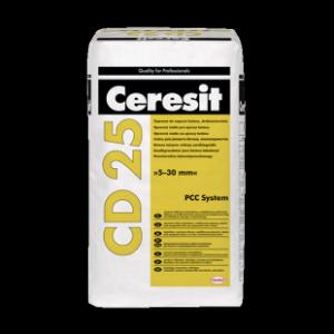 Дребнозърнест разтвор за поправка на бетон Ceresit CD 25 , 25 кг.