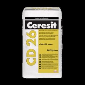 Едрозърнест разтвор за поправка на бетон Ceresit CD 26